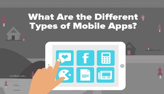 Know More About Different Types Of Mobile Apps