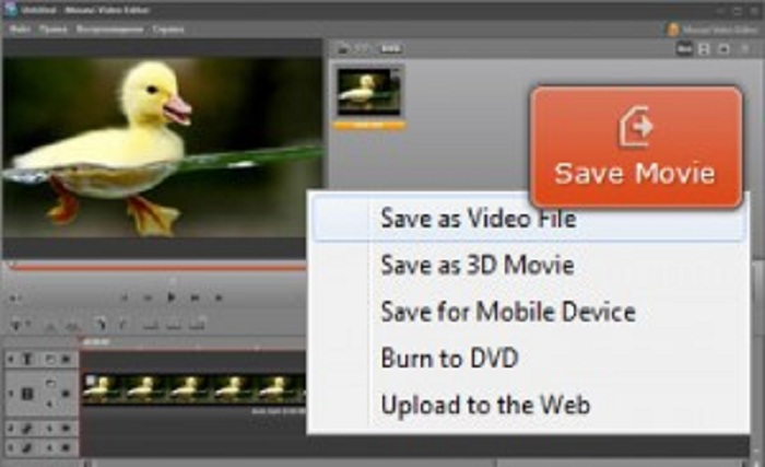 How to Make a Slow Motion Sequence with the Movavi Video Editor