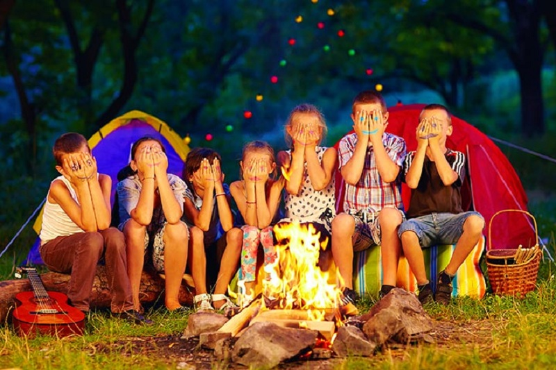 Kids and Outdoor Camping