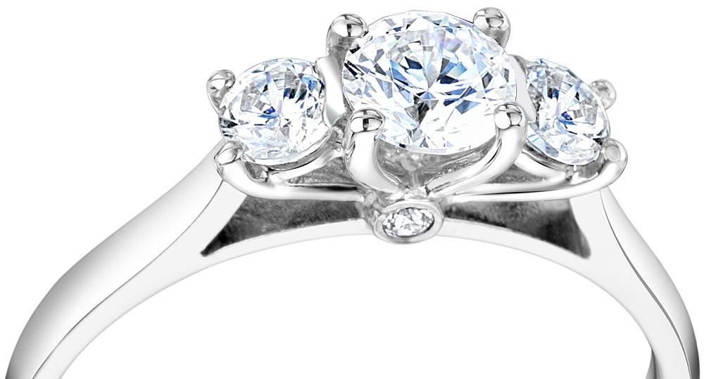 Rare Metal Platinum And Precious Stone Diamond Make A Classic Combination