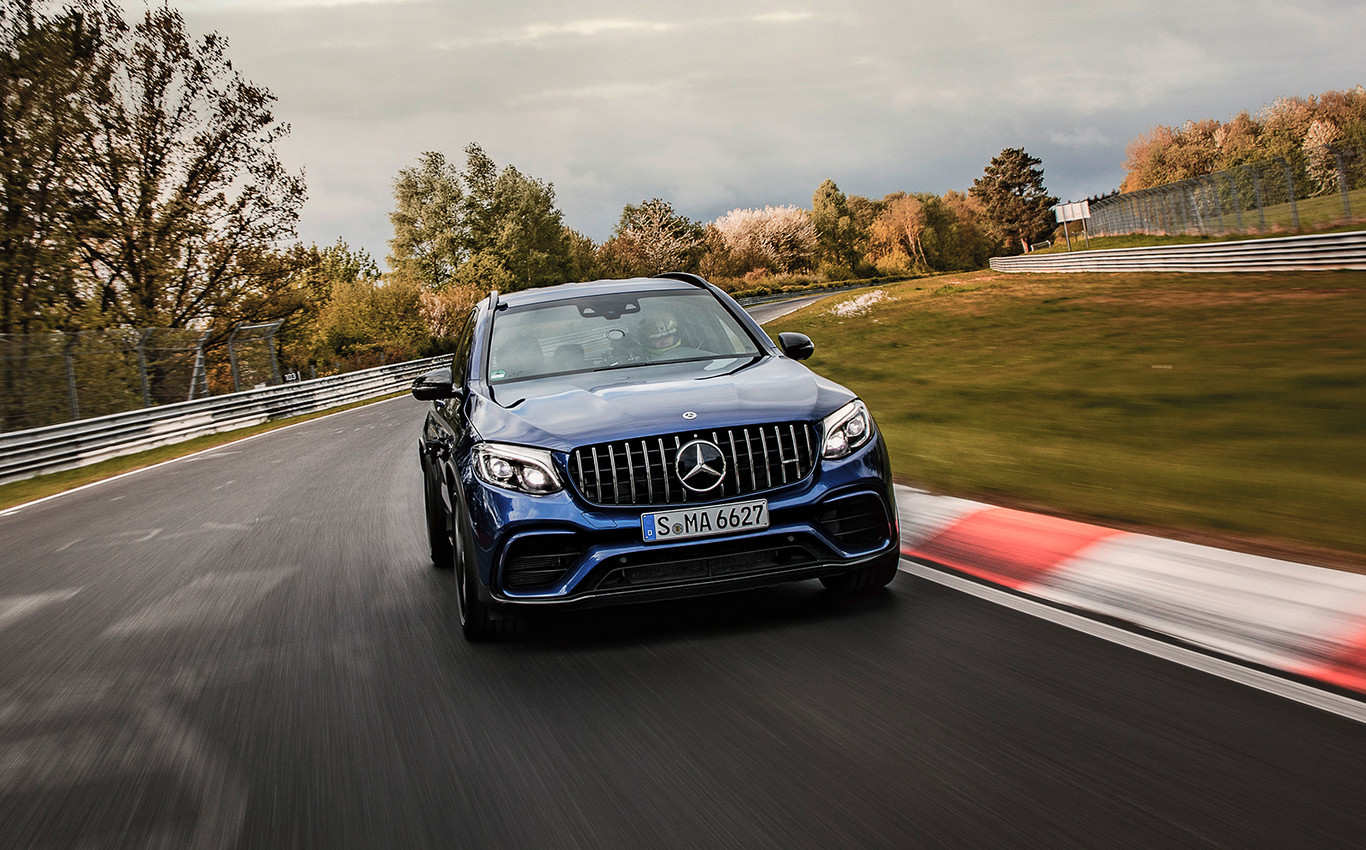 To all SUV! The Mercedes-AMG GLC 63 S is already the fastest SUV in the Nürburgring with a time