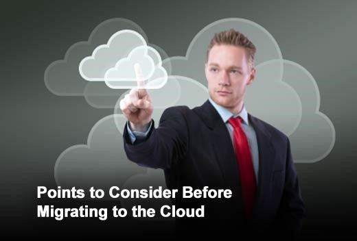 What to consider when moving to the cloud